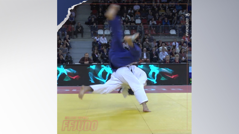 IPPON SEOI NAGE EN COMPETITION