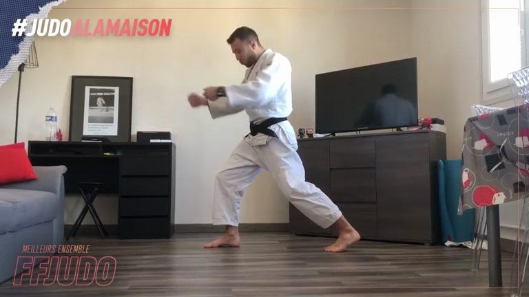 O UCHI GARI - JUDO LA MAISON