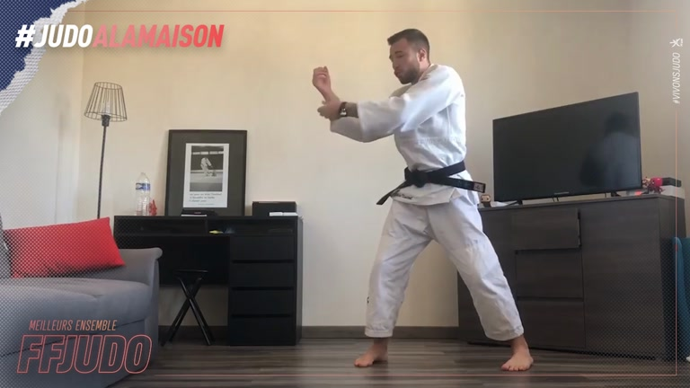 TAI OTOSHI - JUDO A LA MAISON