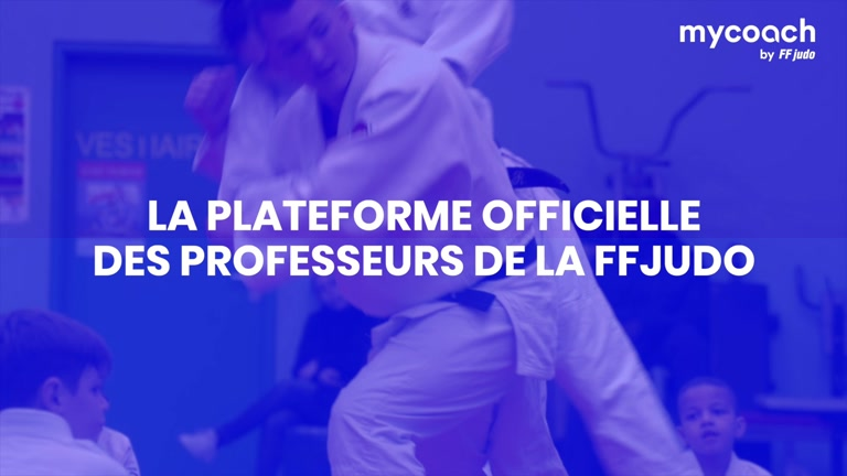 MY COACH BY FF JUDO DISPONIBLE !