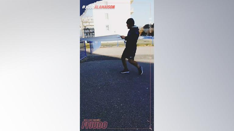 ENTRAINE-TOI COMME... LUKA MKHEIDZE - JUDO A LA MAISON