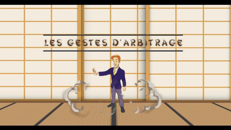 GESTES D'ARBITRAGE - JE PREPARE MON GRADE